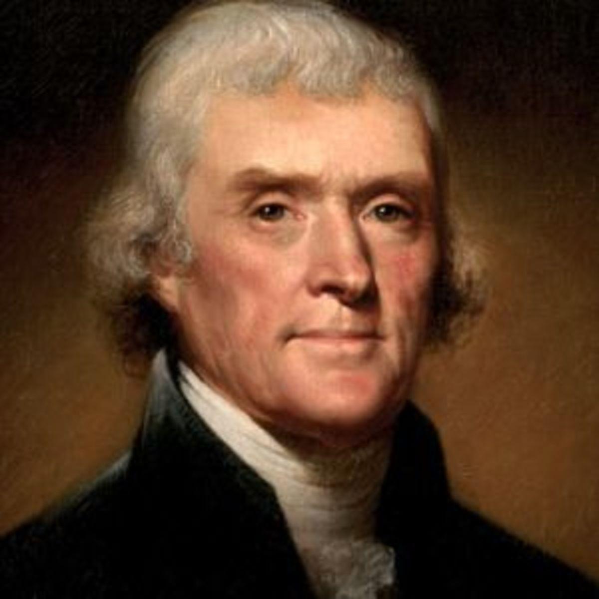 Thomas Jefferson (1743 - 1826)