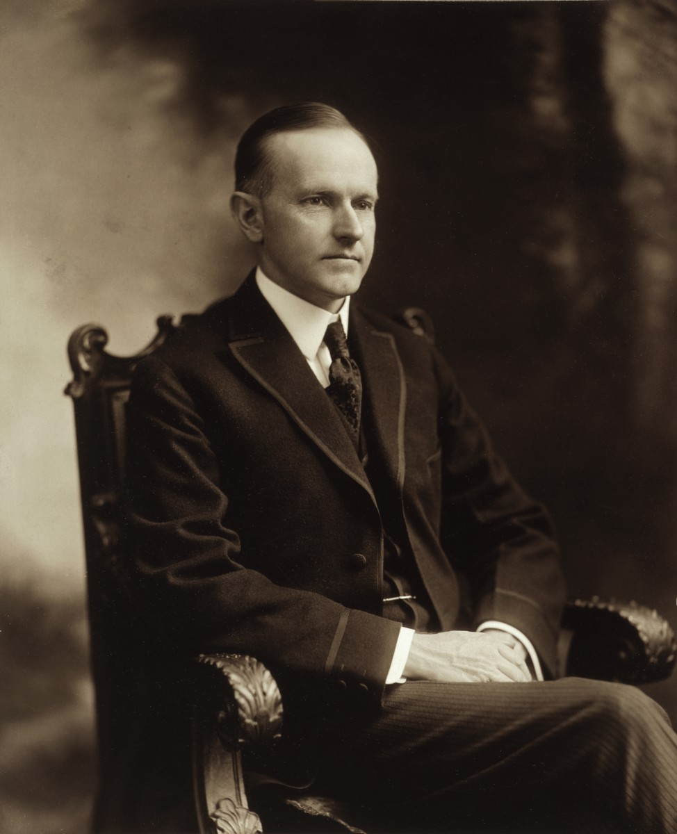 Calvin Coolidge (1872 - 1933)