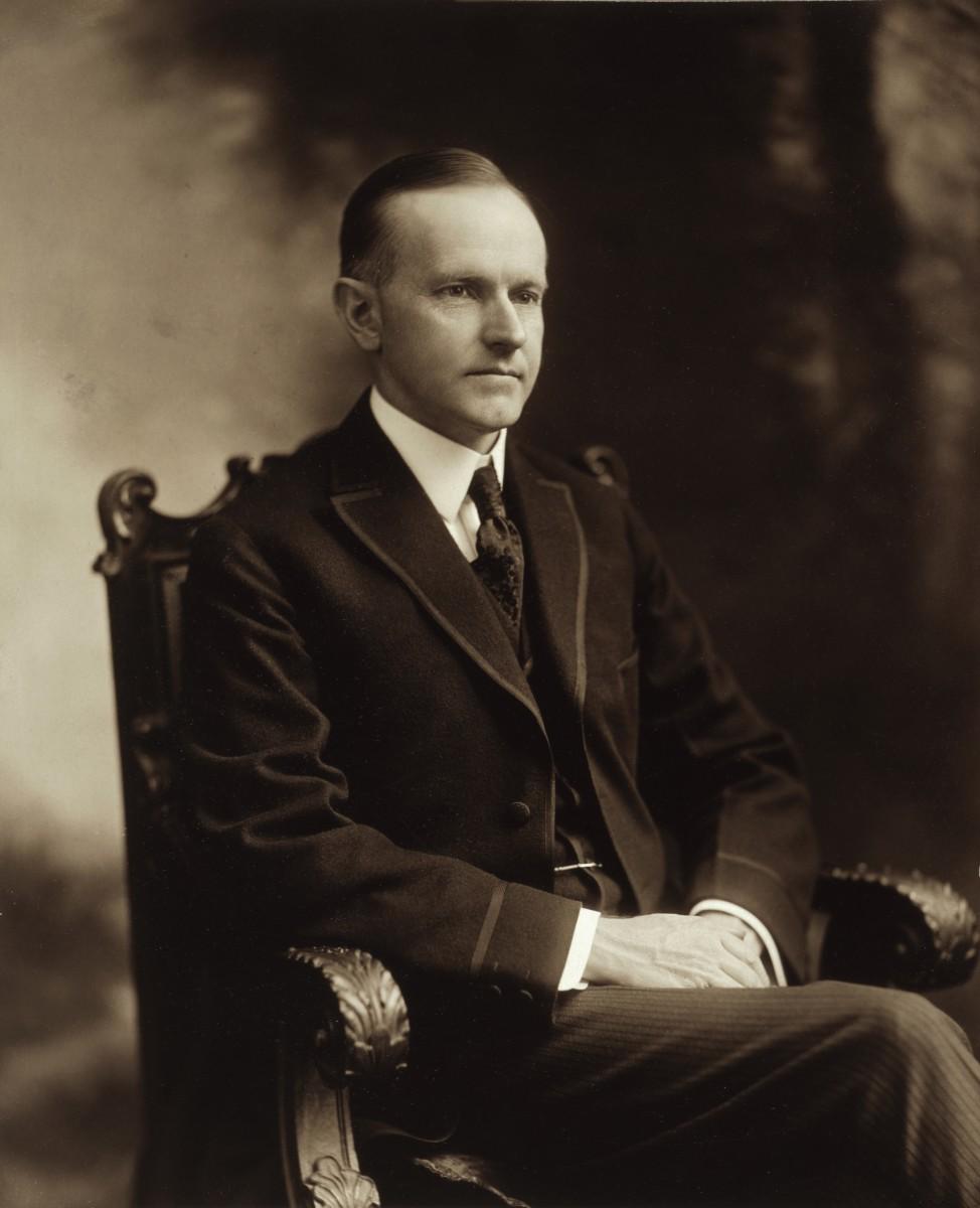 Calvin Coolidge (1872 - 1933)