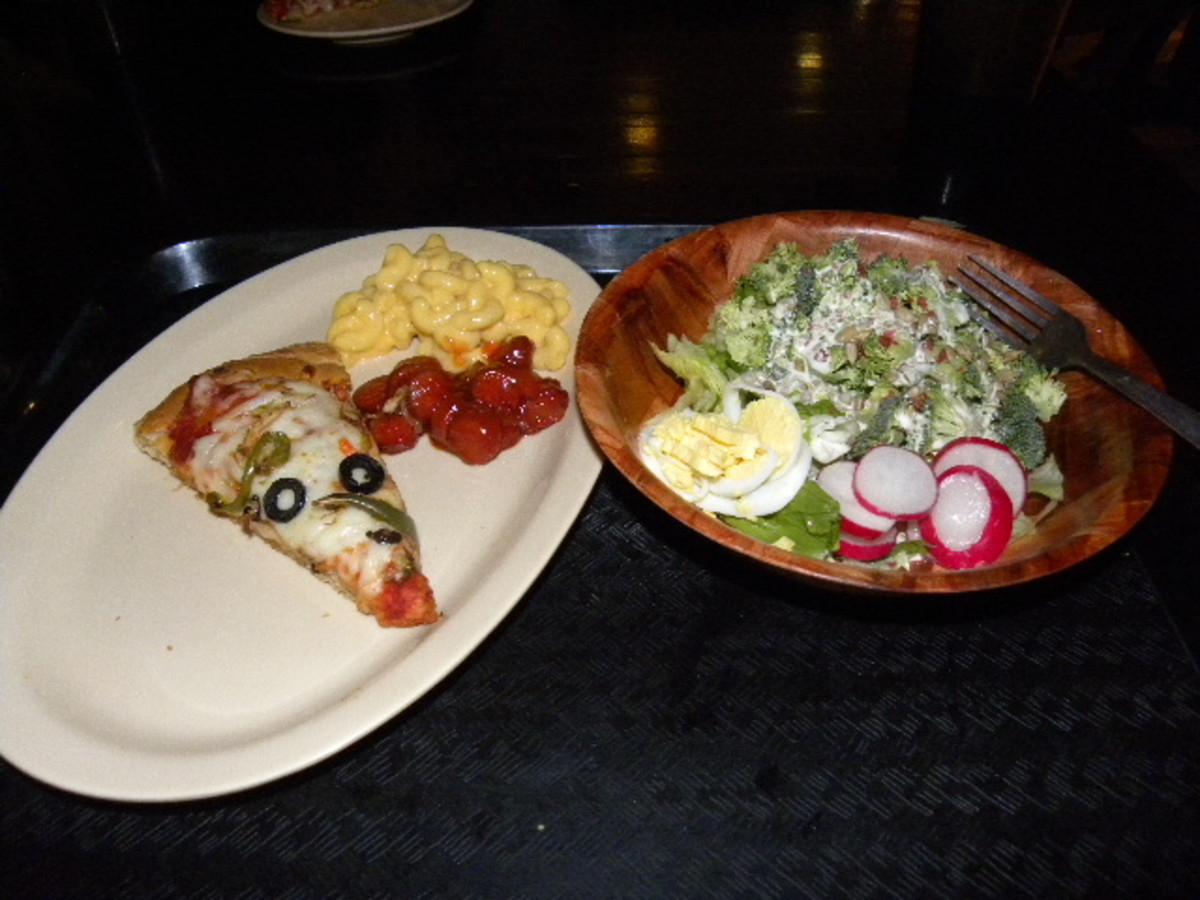 All you can eat Pizza and Salad at Austin's Park and Pizza Pflugerville Tx