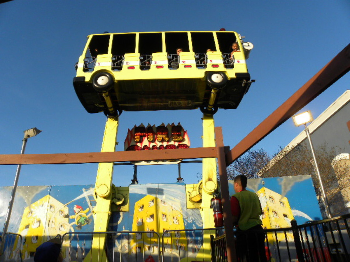30ft ride Austin's Park and Pizza Pflugerville TX
