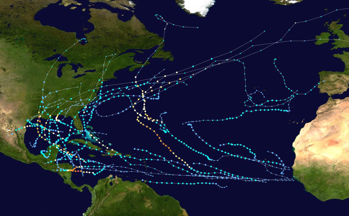 The 2020 hurricane season, like all of 2020, was record-breaker.