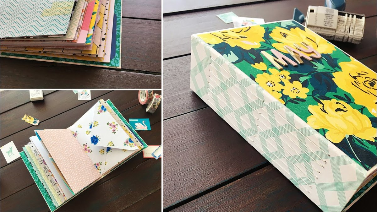 Cereal boxes are the perfect way to create your own art journal .