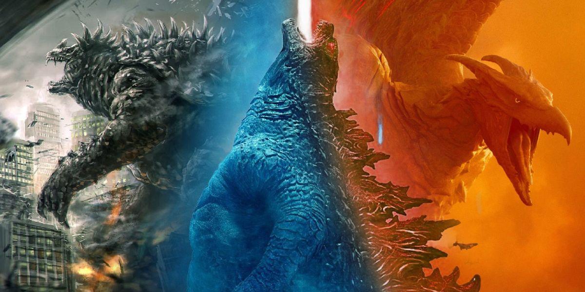 Anguirus, Godzilla, and Rodan
