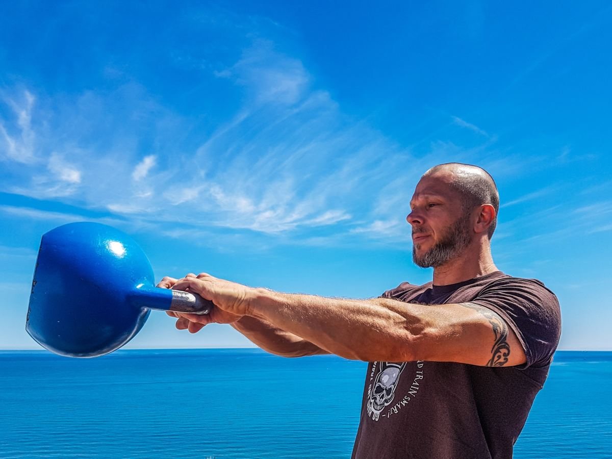 The 50 Pound Kettlebell Swing: Benefits & Instruction
