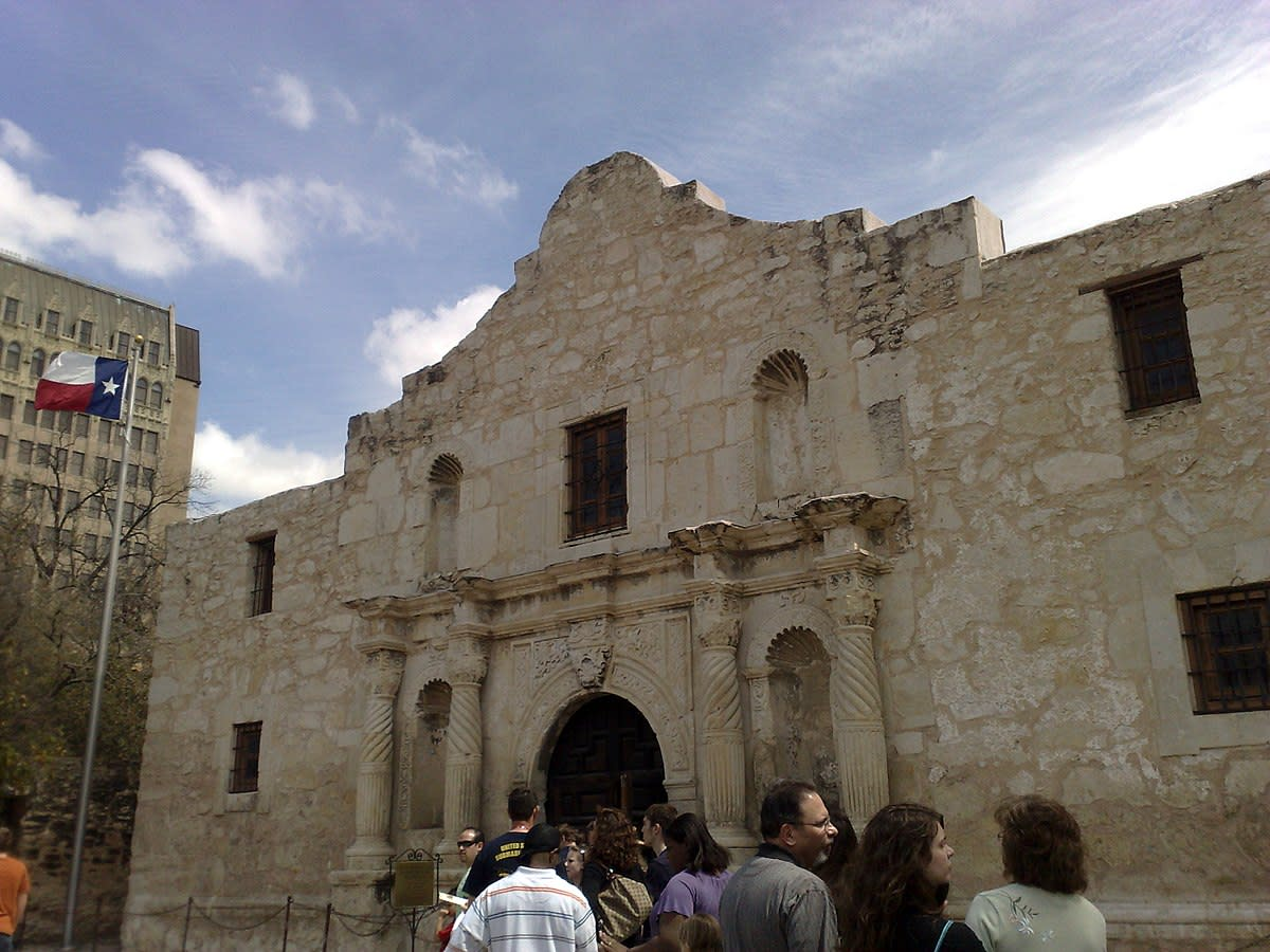 The Alamo in San Antonio, TX