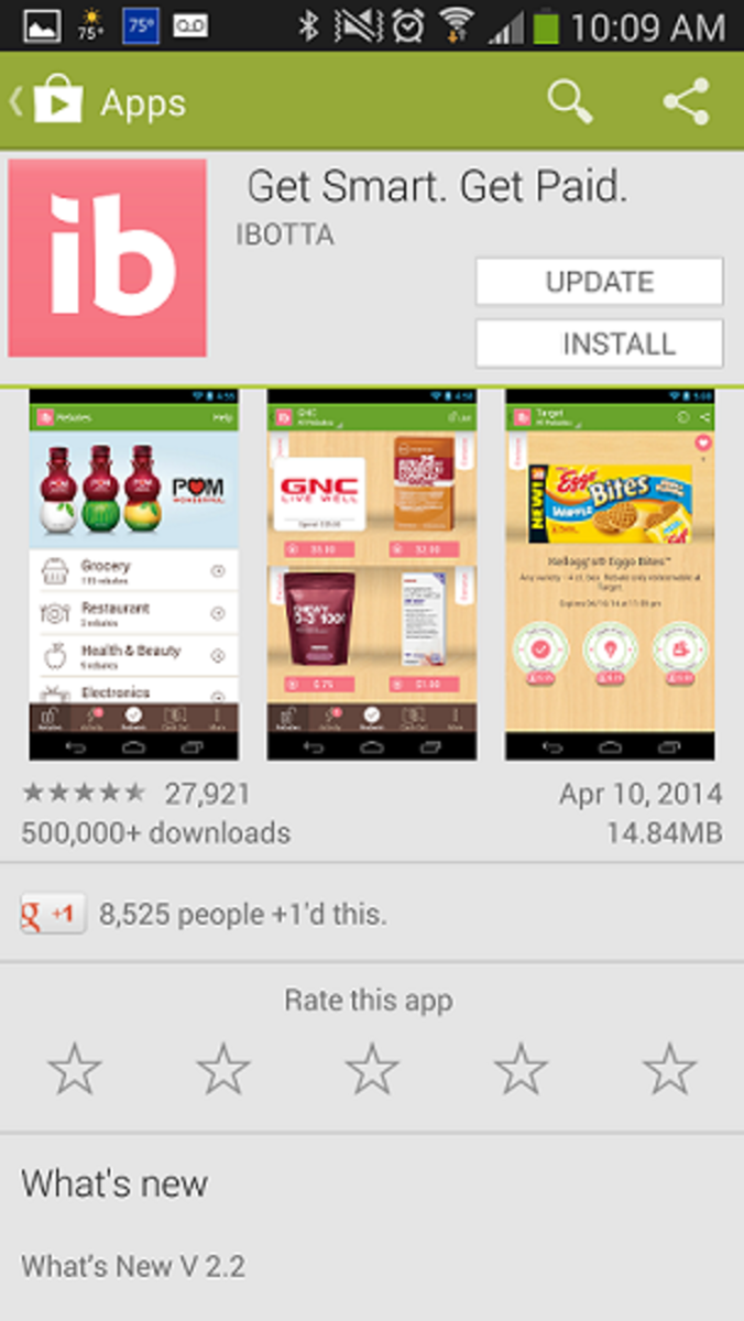 Choose to install the app.