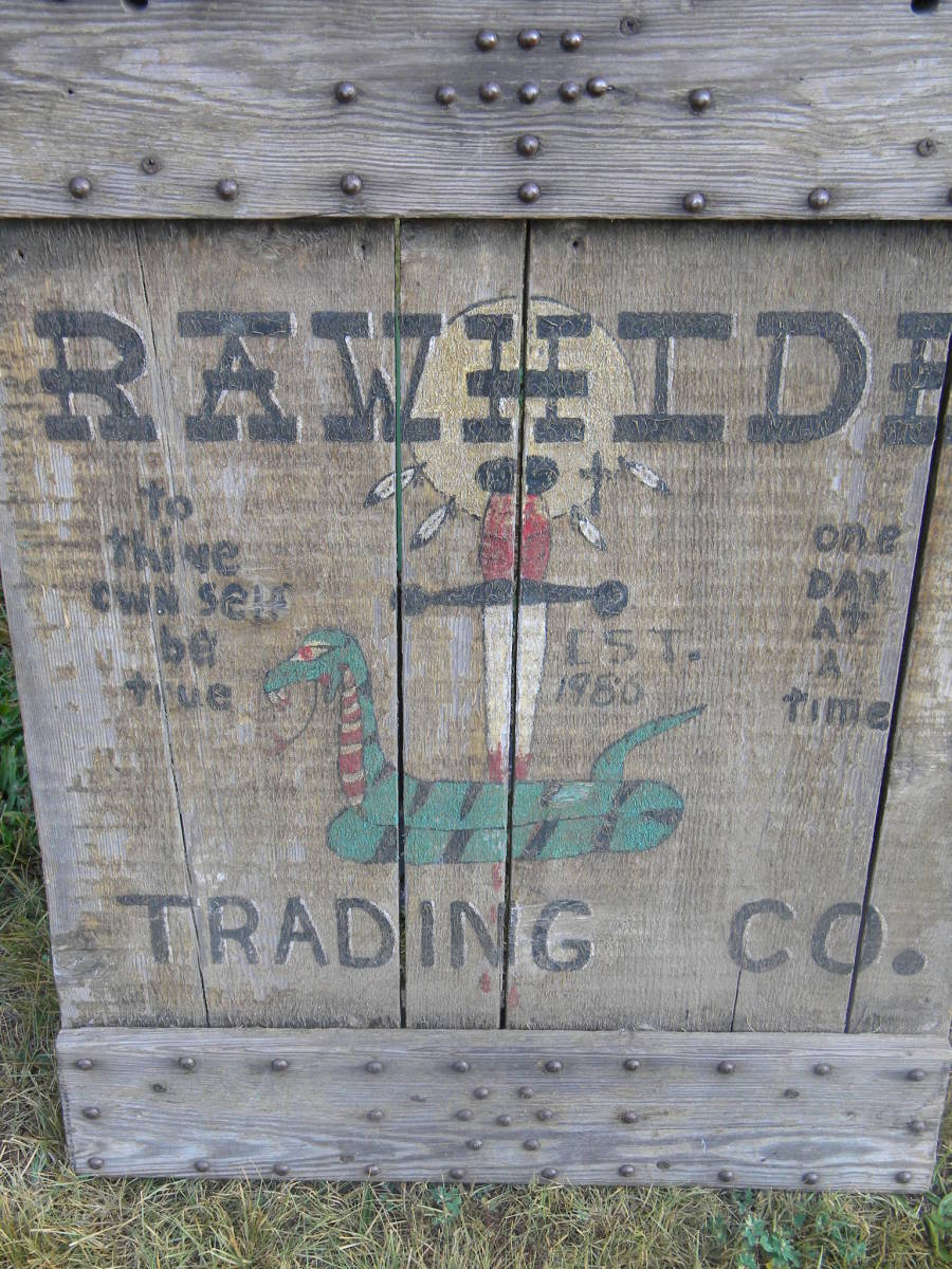 Rawhide Trading Company, specializing in mountain man and his lady's clothing!