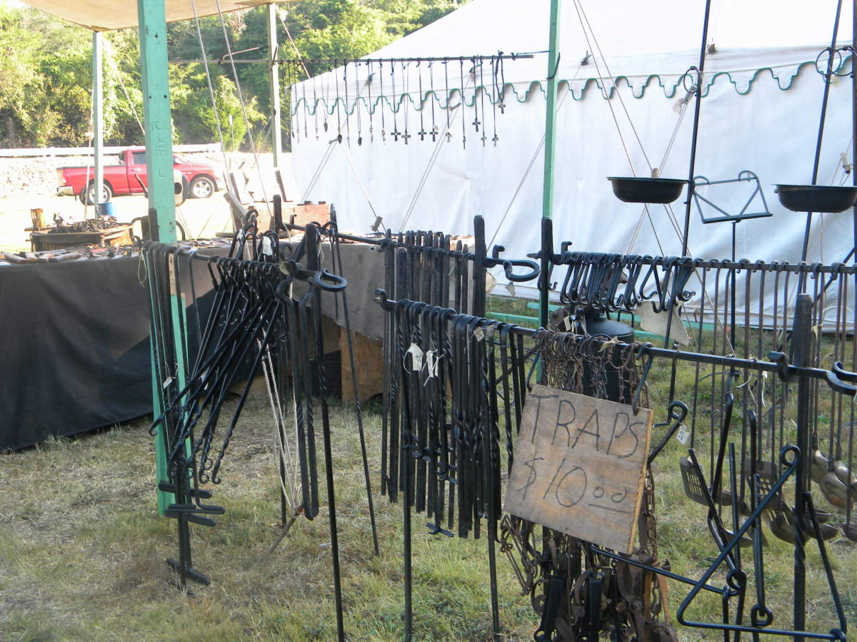 Justin's blacksmith creations