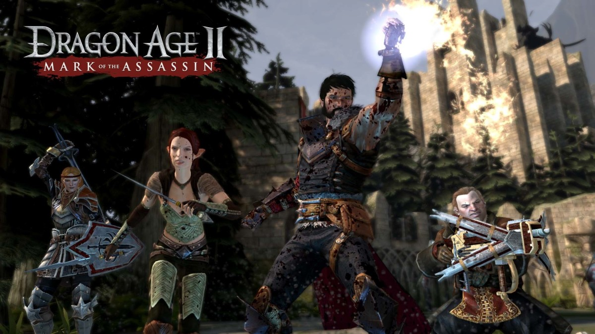 Mage Hawke appears in yet more promotional material.