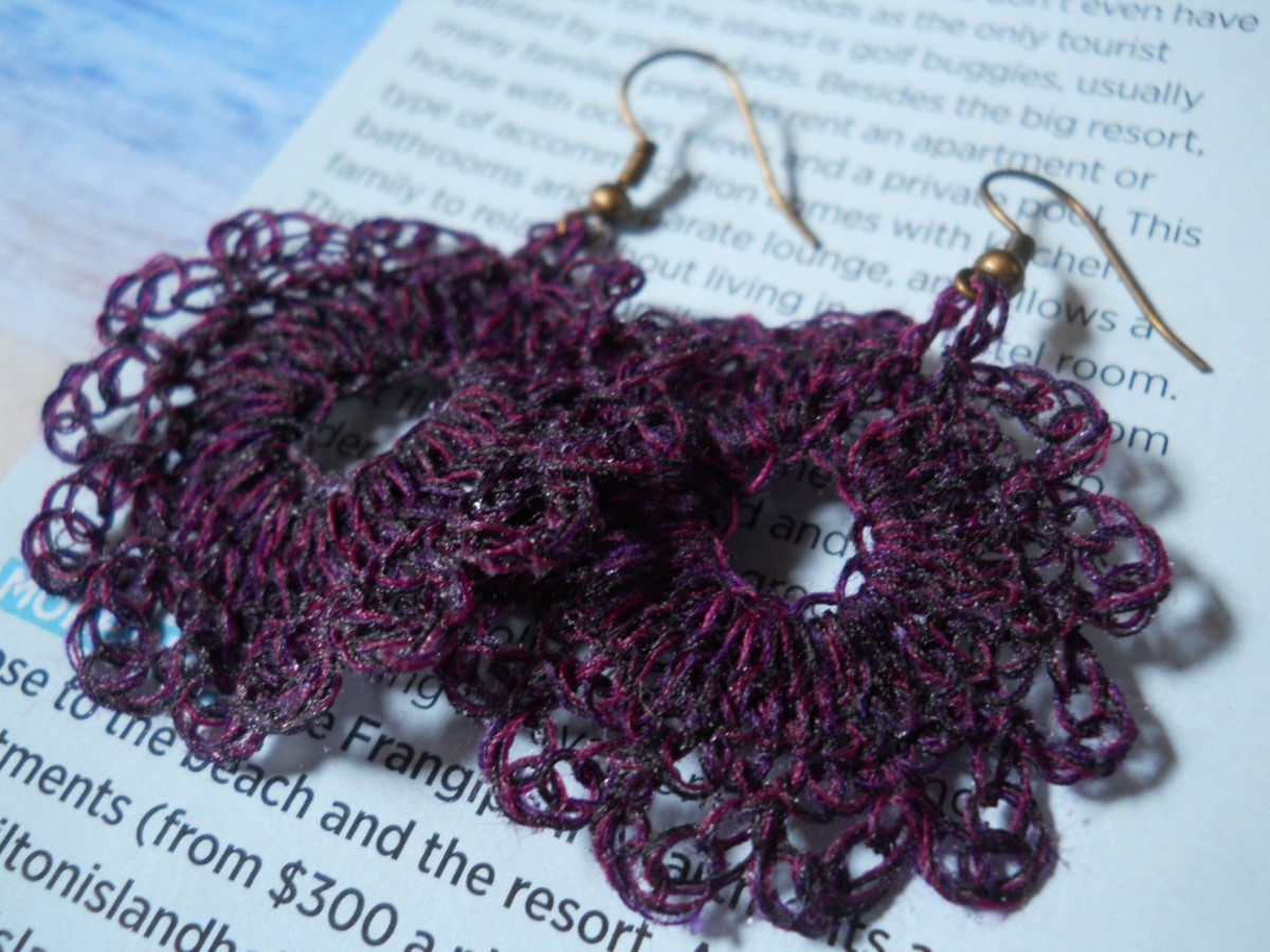 Close up on the violet pair...