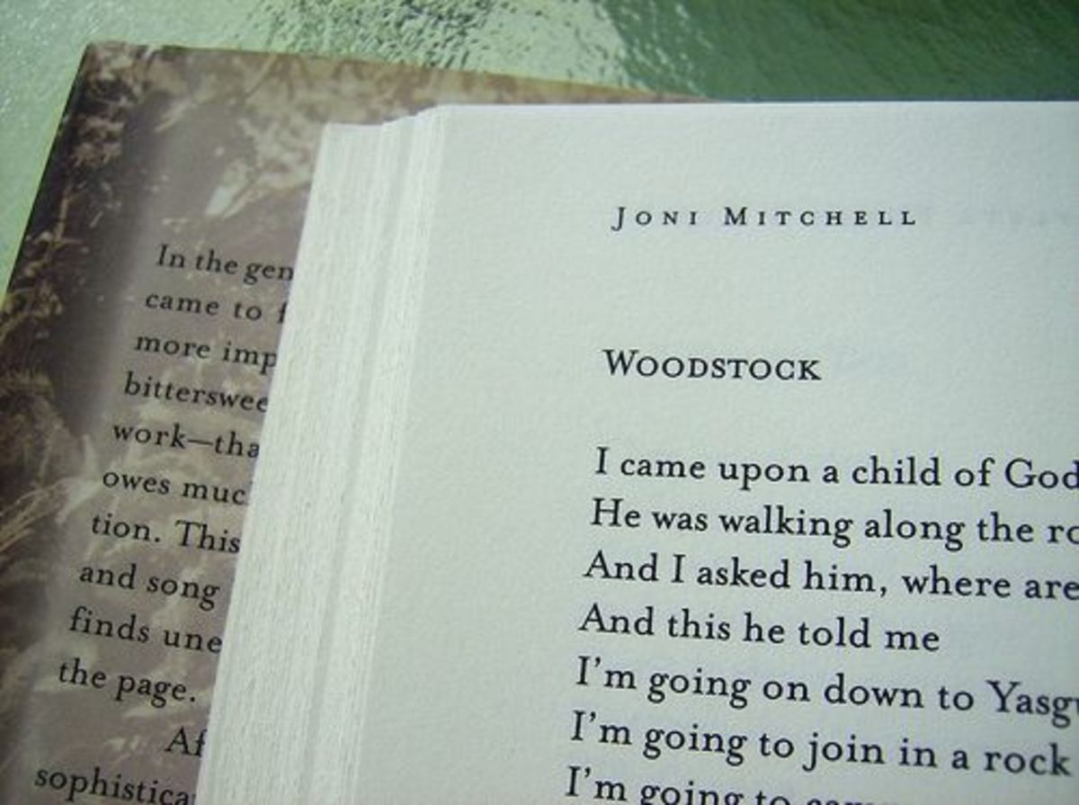 "Joni Mitchell ""Woodstock"" lyrics"