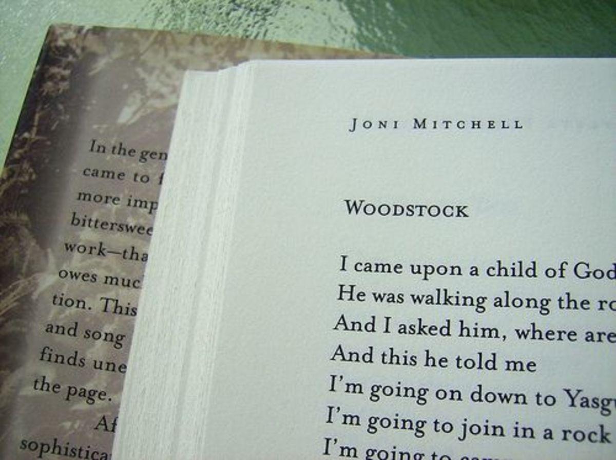 "Joni Mitchell ""Woodstock"" lyrics"