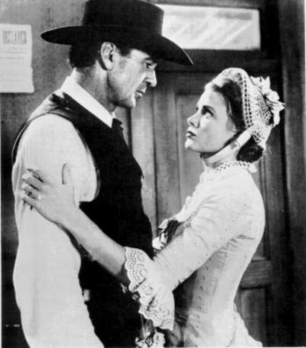 Grace with Gary Cooper in High Noon