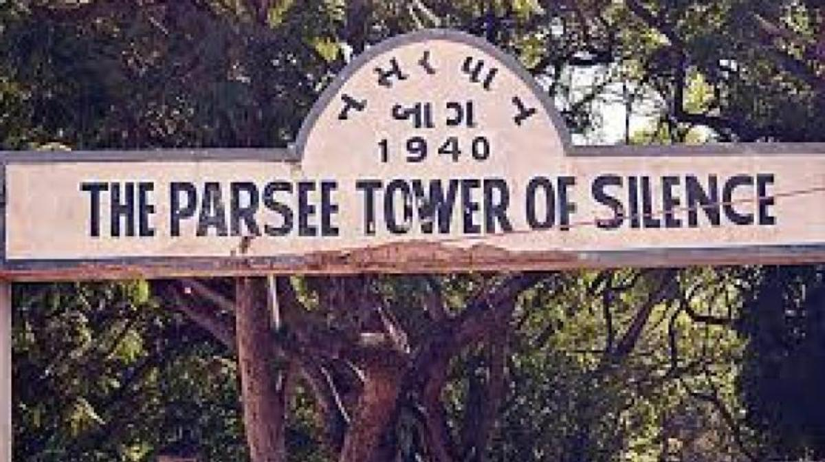 parsi-disposal-of-their-dead-tower-of-silence-in-mumbai