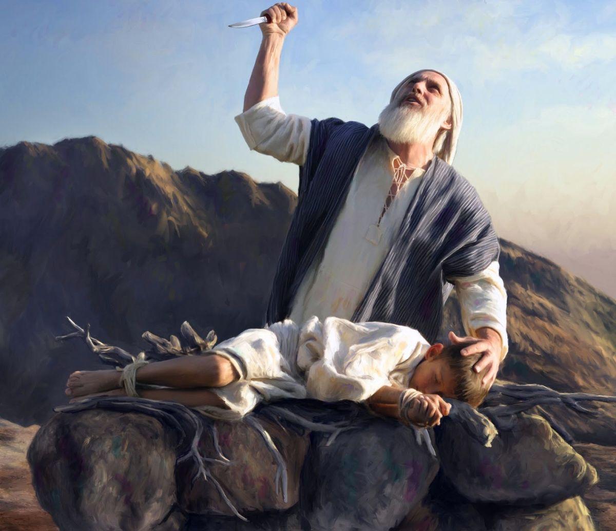 Abraham Ready to Sacrifice Son