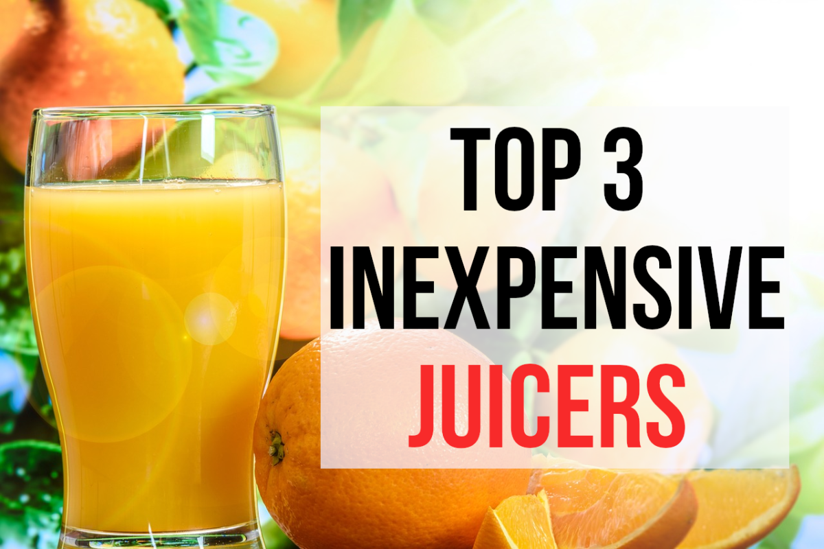 If you are looking for a good juicer for an affordable price, read on for my top 3 recommendations..