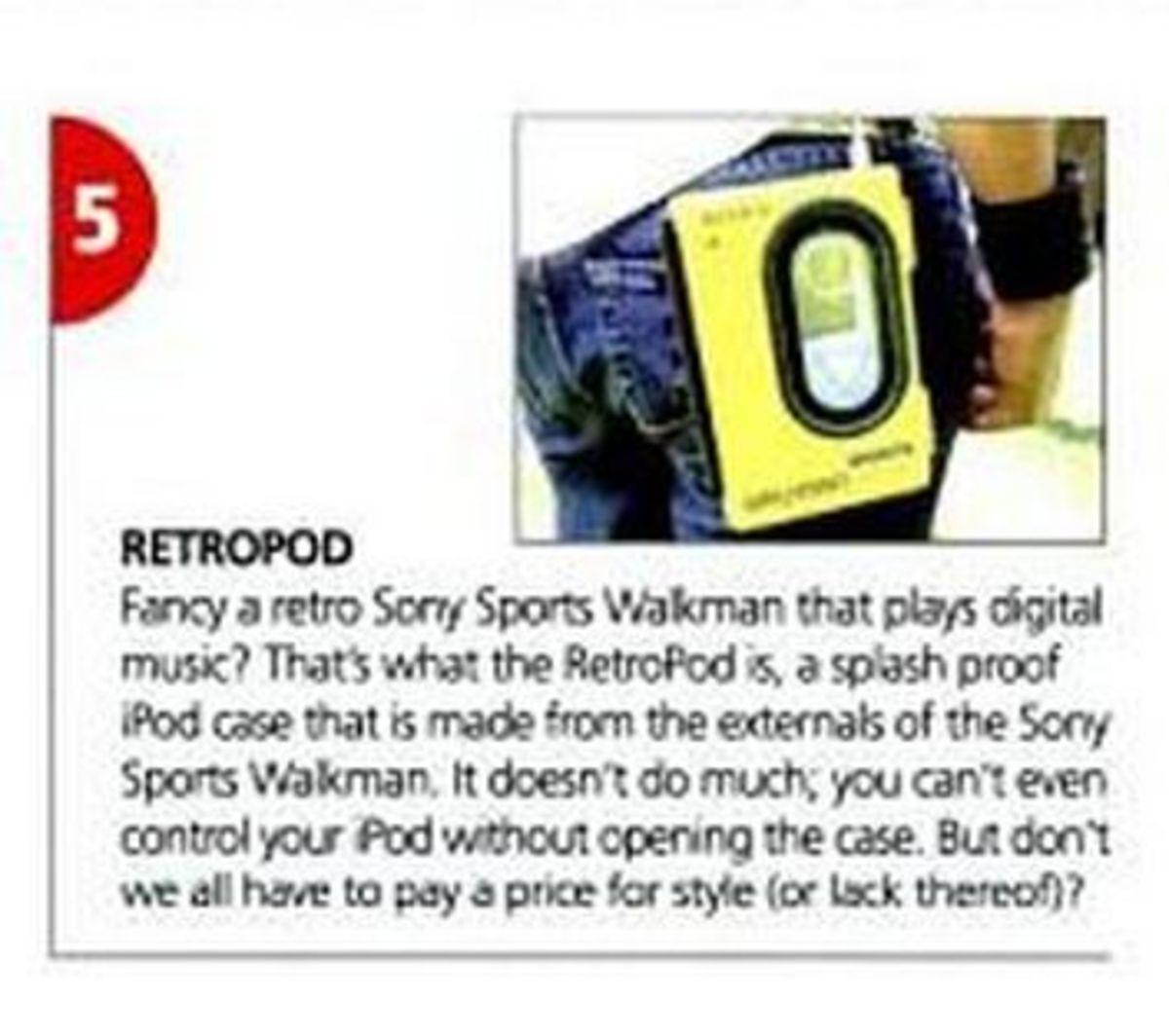 Sony Retropod