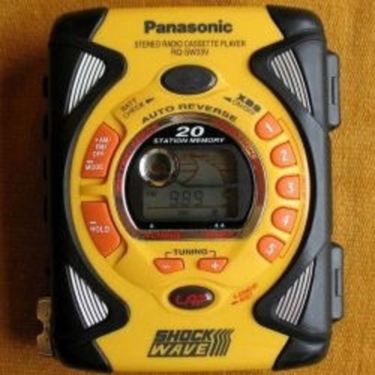 Waterproof Cassette Players: Sony Walkman, Panasonic Shockwave