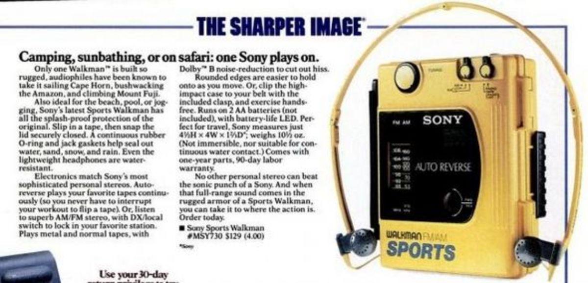 Sony Sports Walkman FM/AM (1988)