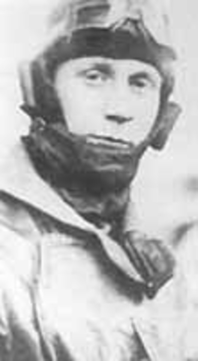 Ludwig Beckmann flew fighter planes through two world wars.