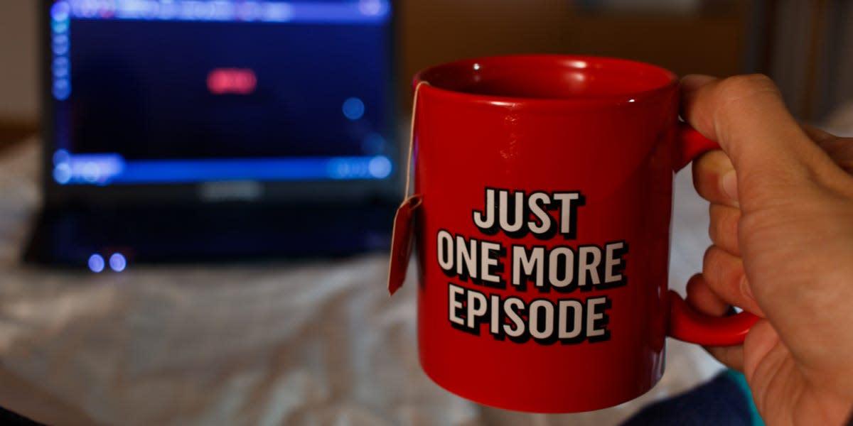 Netflix addiction is no joke!