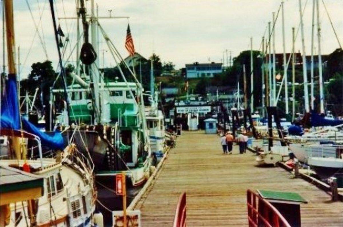 Pier at Friday Harbor