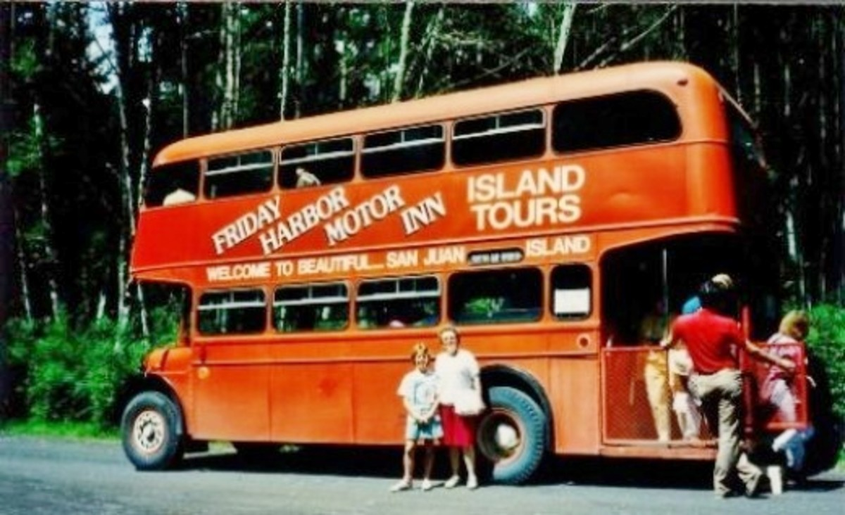 We board the bus for our 2 hour tour of the island of San Juan.