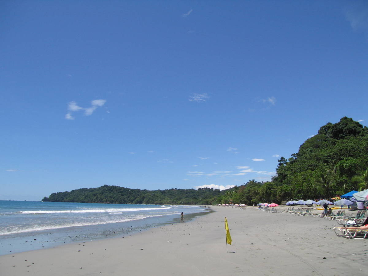 Beautiful Beach In Costa Rica