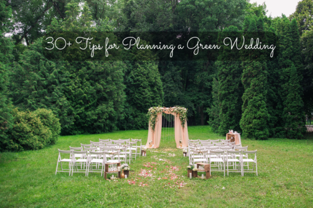 It only takes a little bit of thinking to make your wedding environmentally friendly. Slow down to think about your wedding and what you can do to lower your overall carbon footprint.