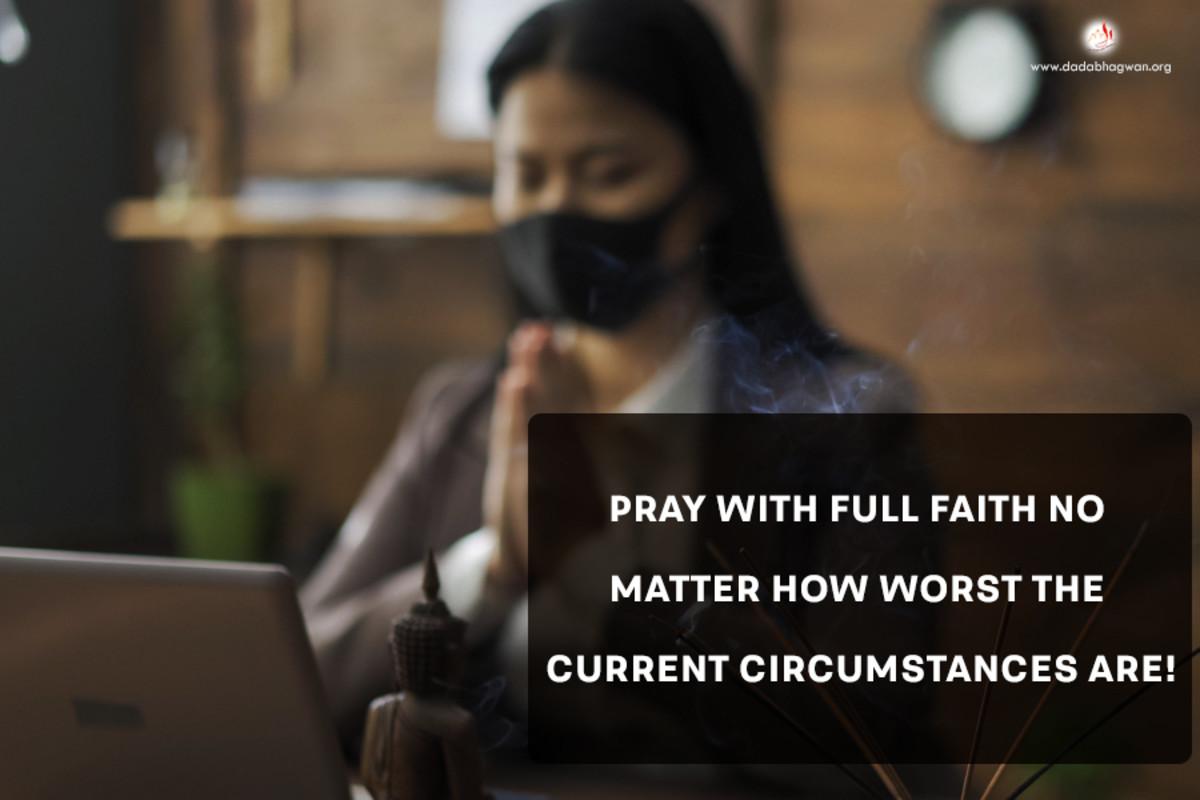 Praying With Full Faith
