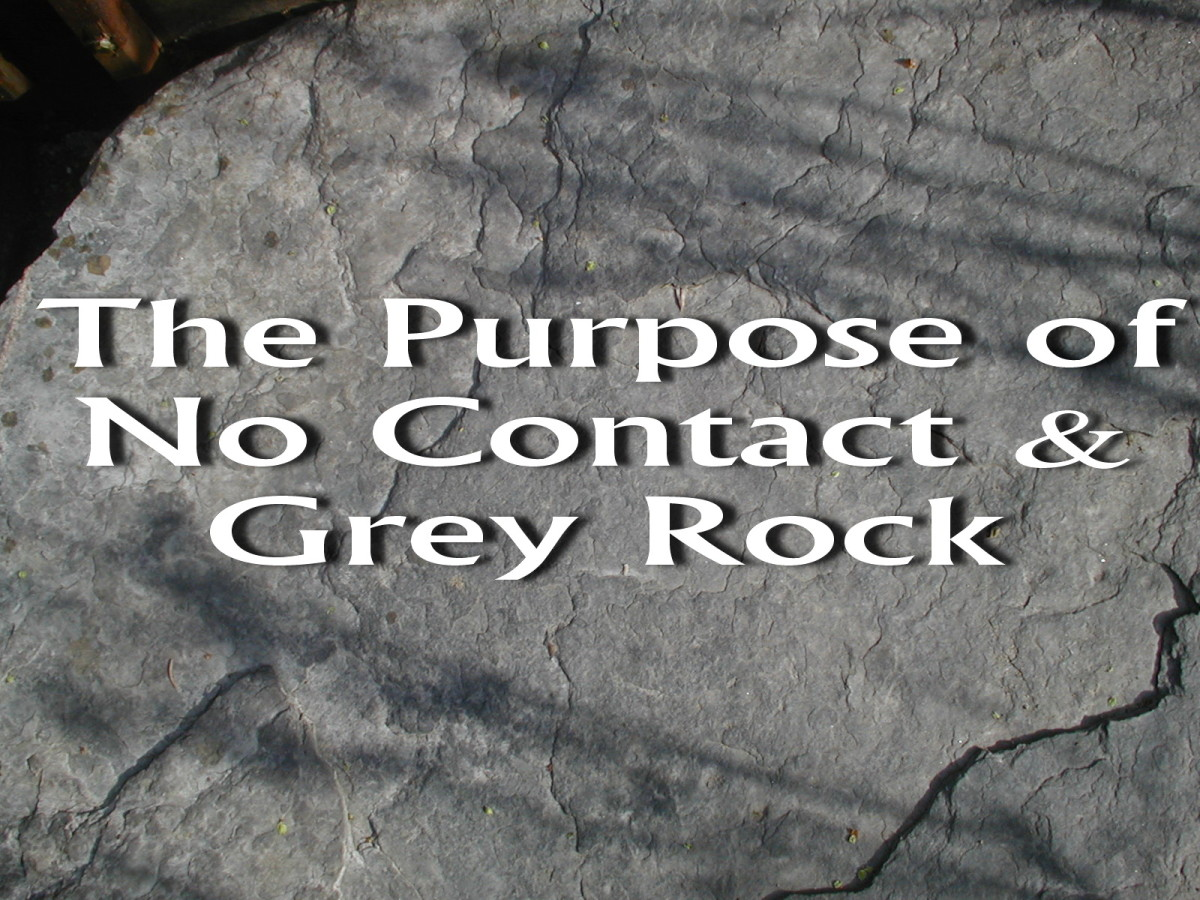 The Purpose of No Contact & The Grey Rock Method With