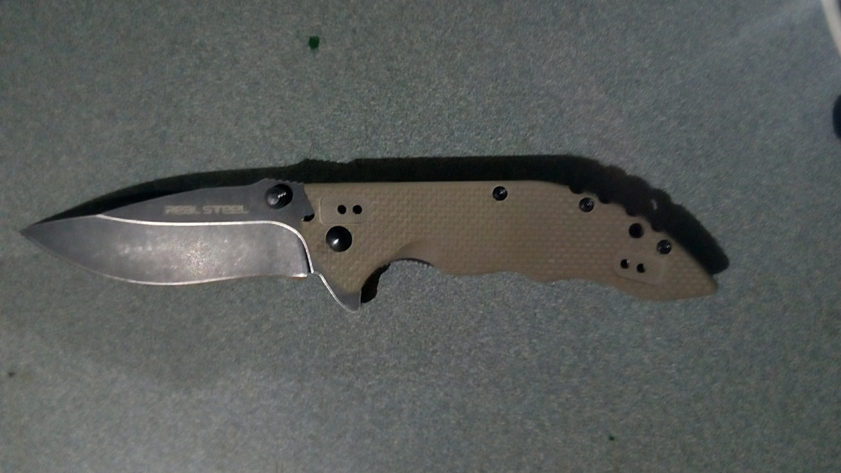 My Real Steel E77 Knife After One Year of Use