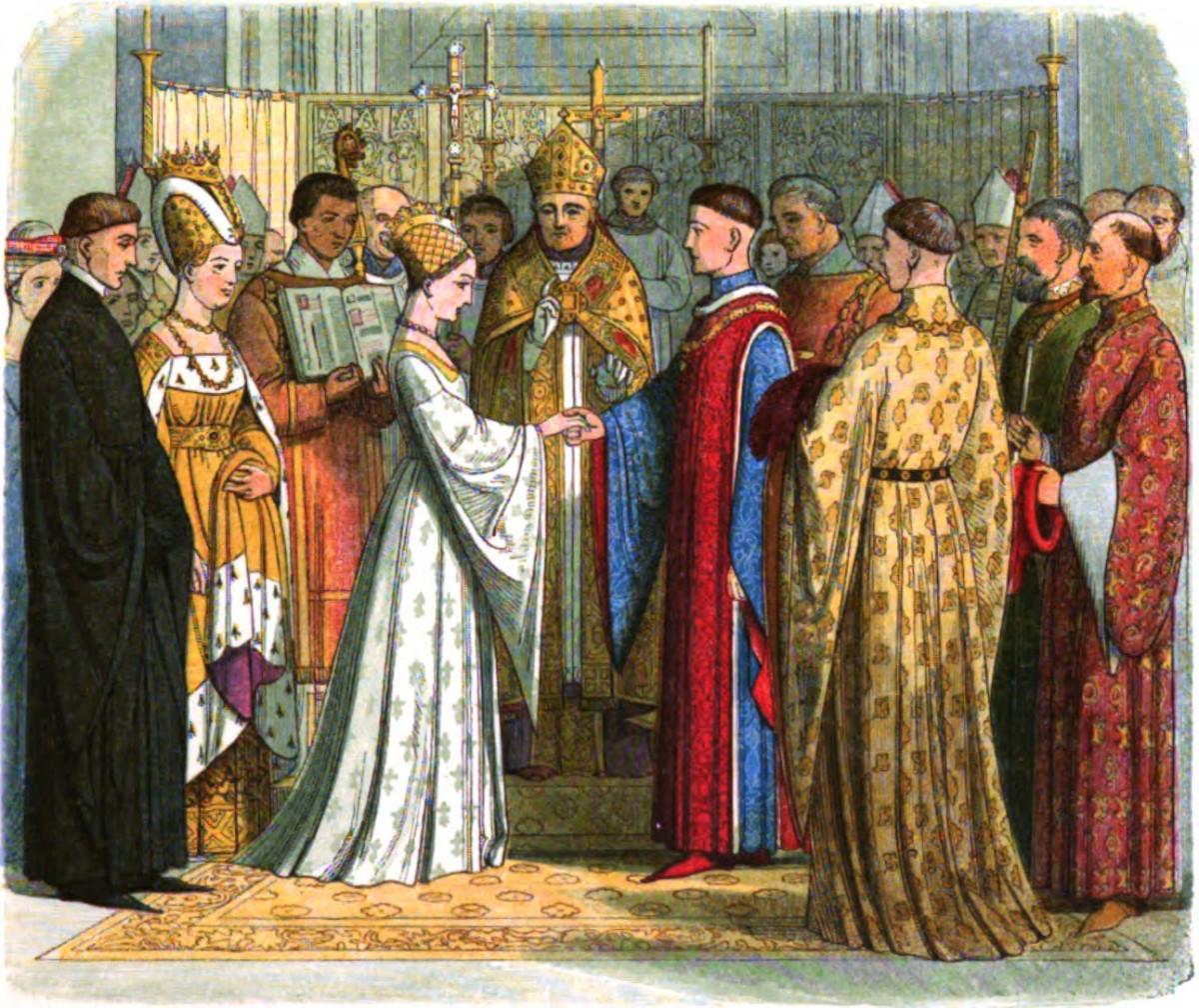 Wedding of King Henry V and Princess Catherine Valois