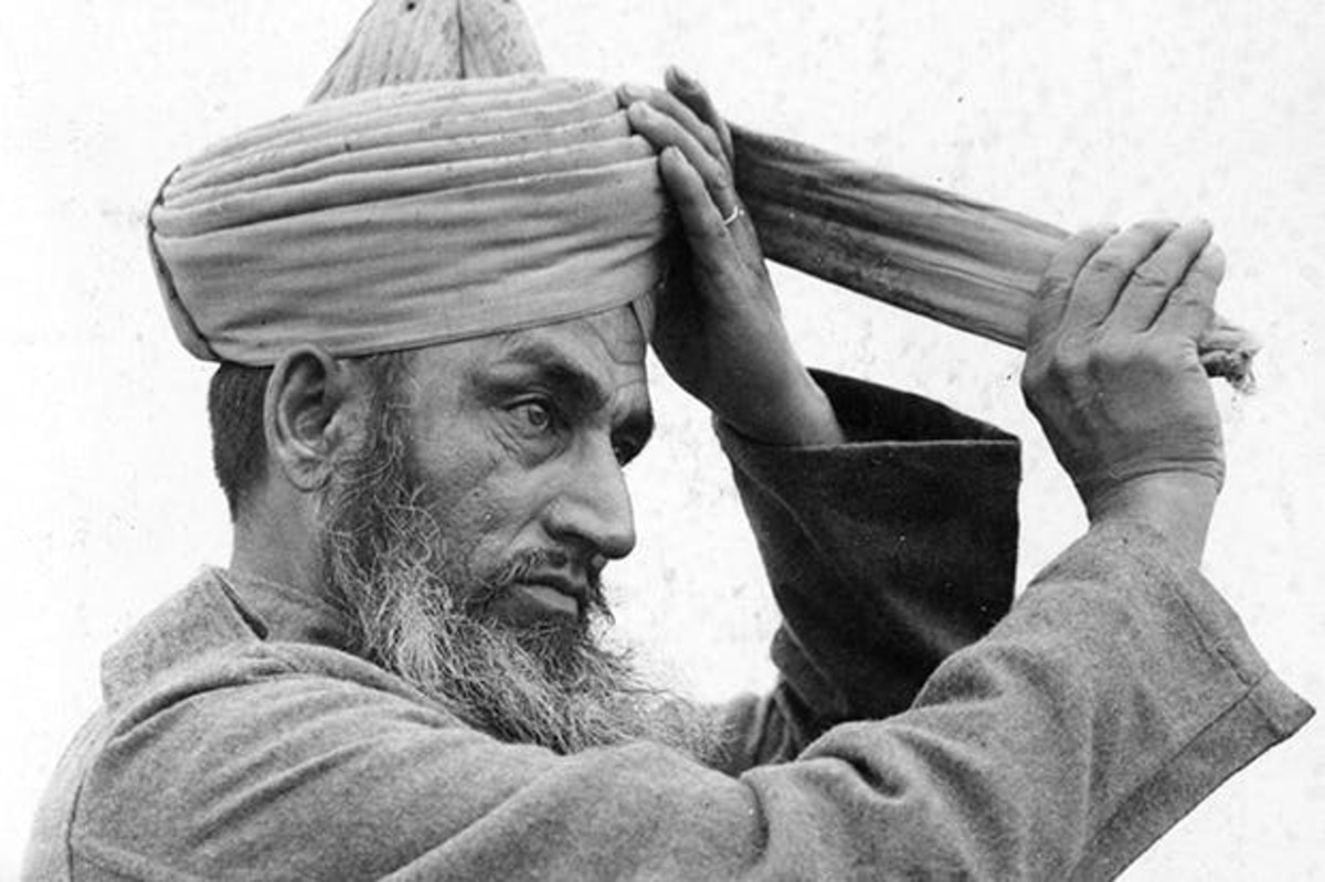 Muslim soldier of the BIA at Dunkirk