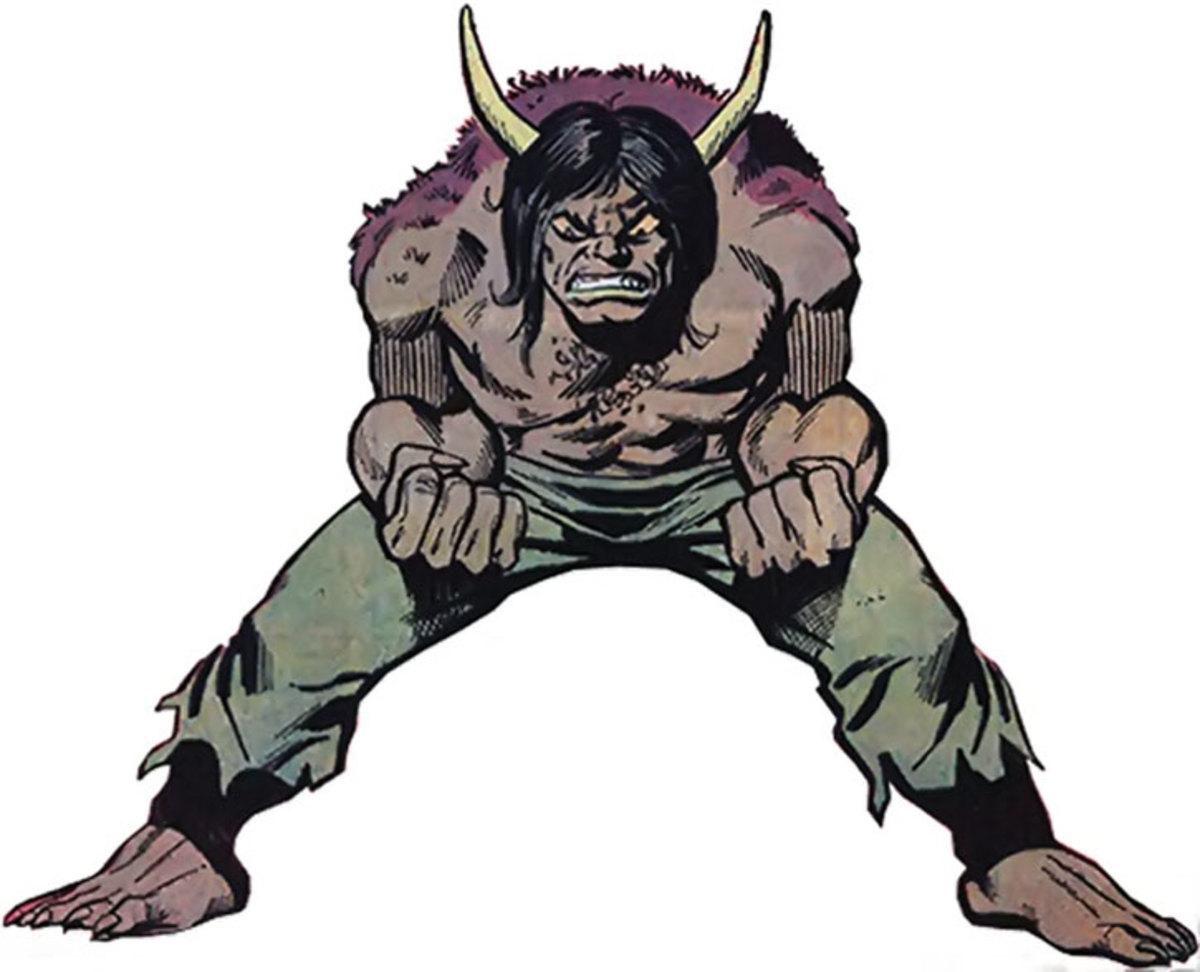 "The Man Bull, Bill ""Bull"" Taurens"