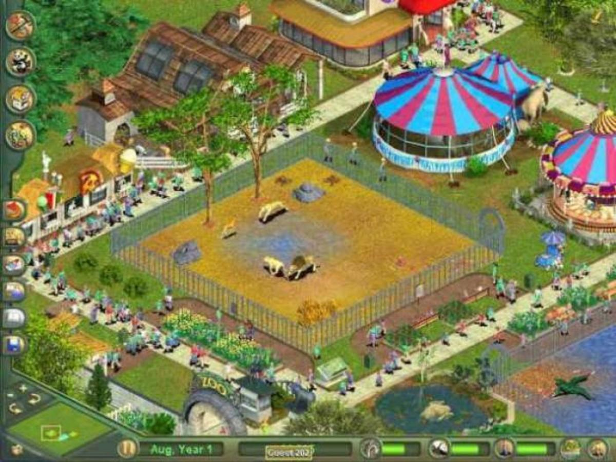 A Zoo Tycoon Park!