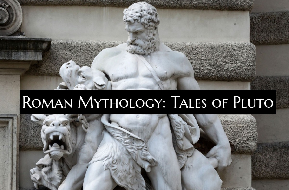 Pluto was the god of the underworld. He was seen in a much more positive light by the Romans than his Greek counterpart Hades. Pluto was seen as part of a divine couple with Persephone.