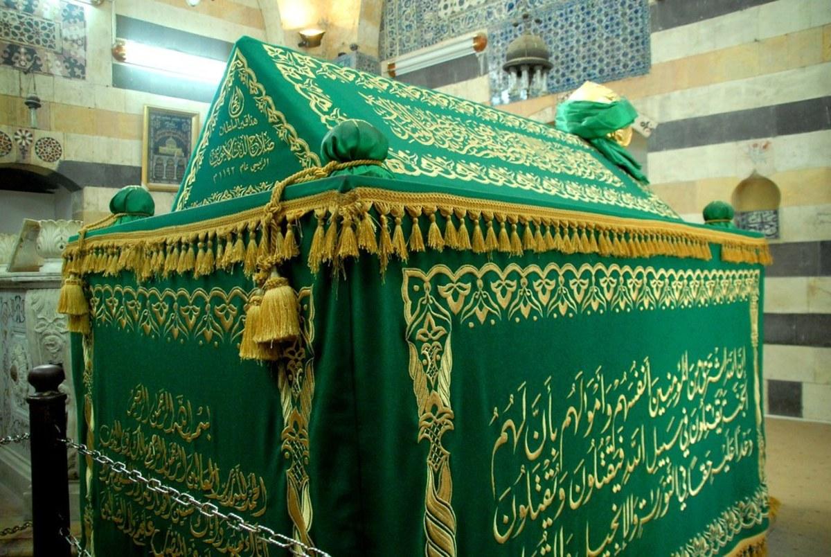 Saladin's Tomb at Damascus