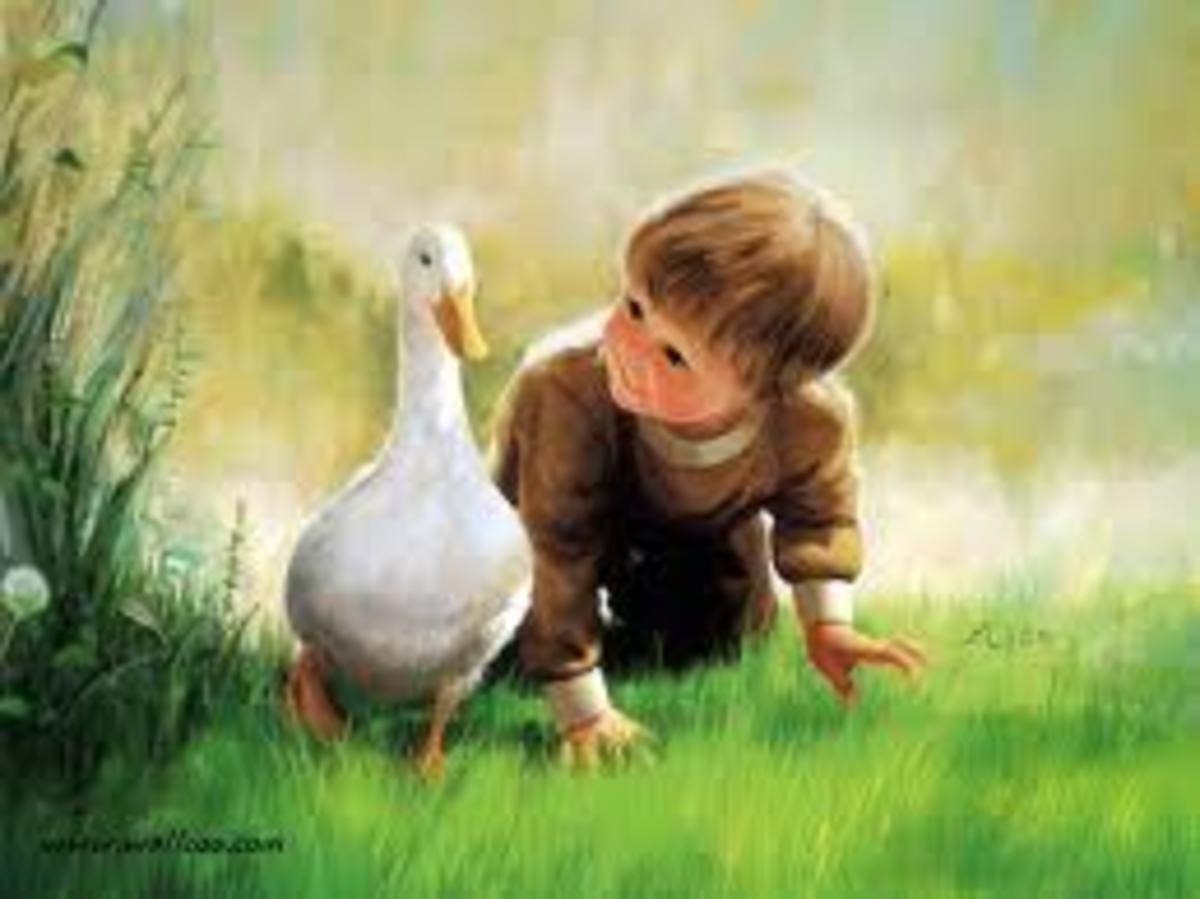 It can be great when you are a child, if there are no problems in your family and you can play and be happy and learn from life all those happy things. But if things are not that great you can still learn by observing life anyhow.