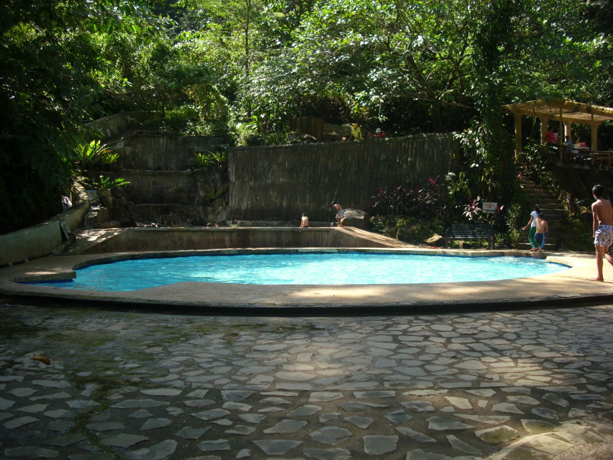 Children  swimming pool at Tiklas Waterfalls