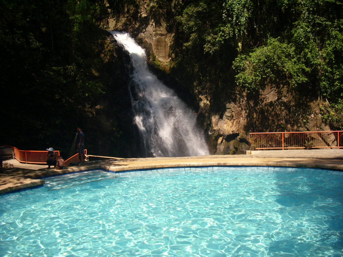 Adult swimming pool at Tiklas Waterfalls