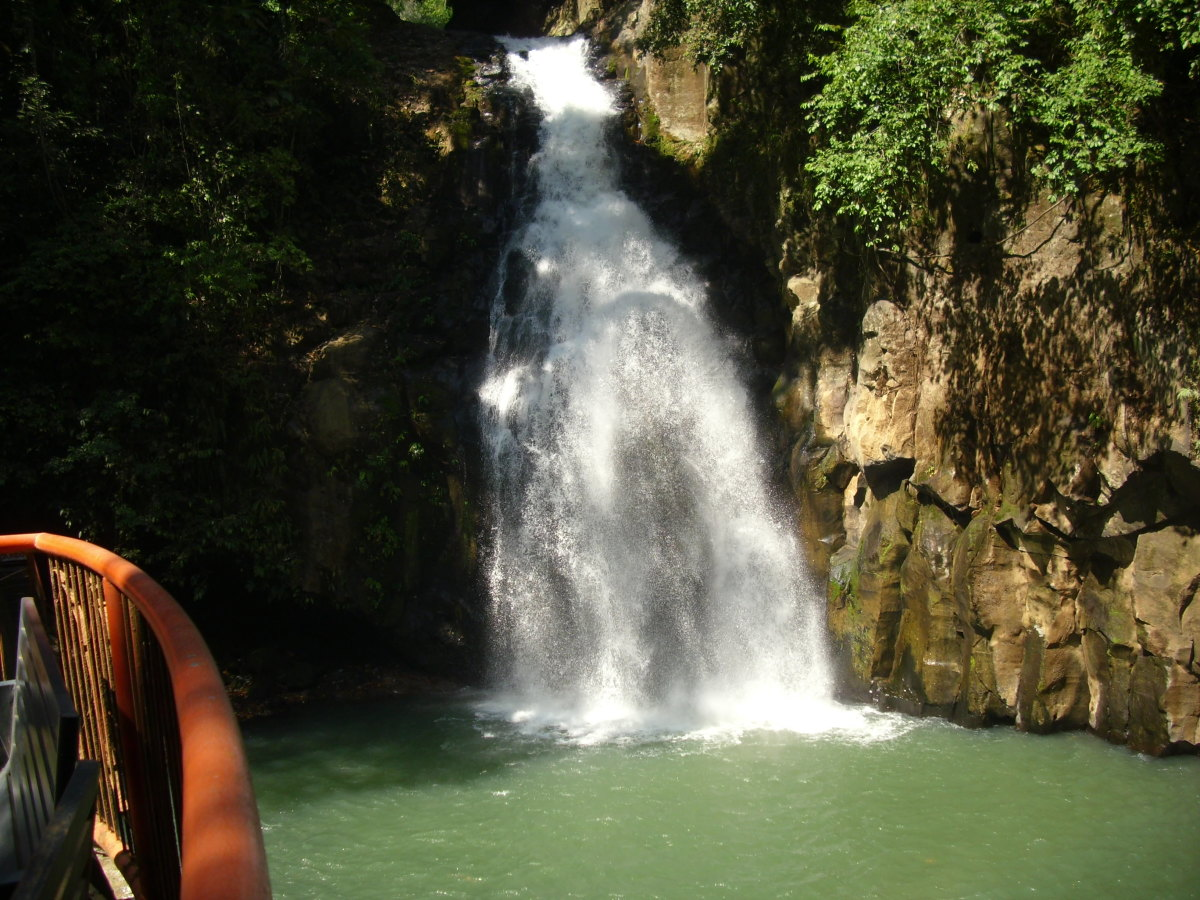 Tiklas Waterfalls, One Of The Beauty Spots Of Gingoog City Philippines