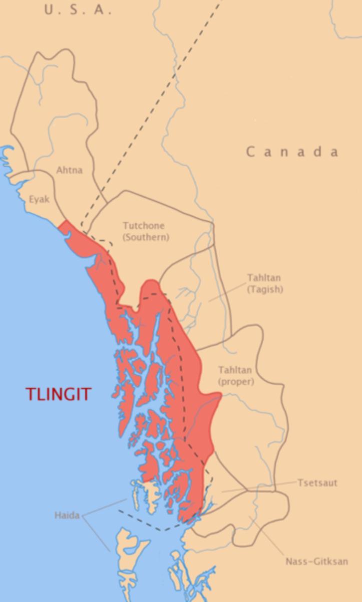 Tlingit map