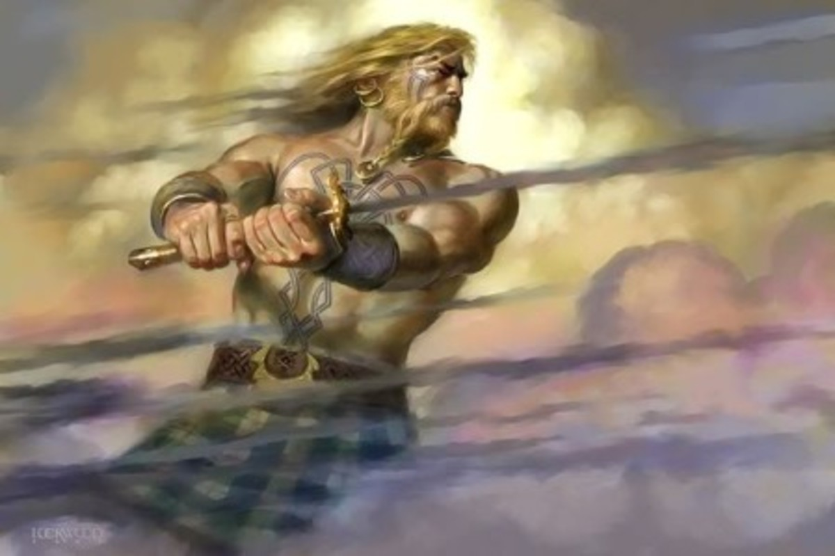 Fionn mac Cumhaill, hero and villain all in one, and an eye for the ladies led him into trouble