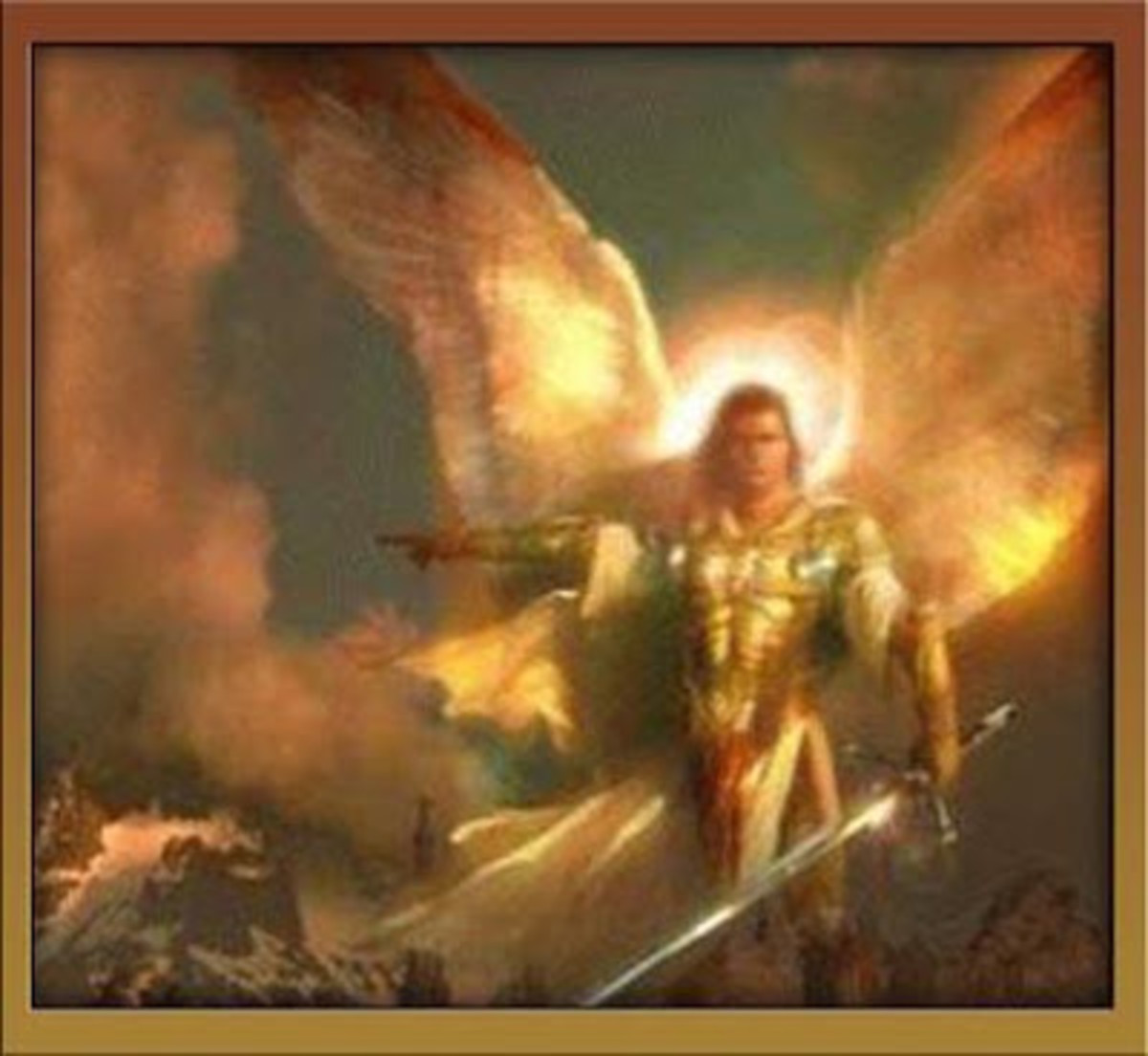 Angel of the Lord - the Champion of His People