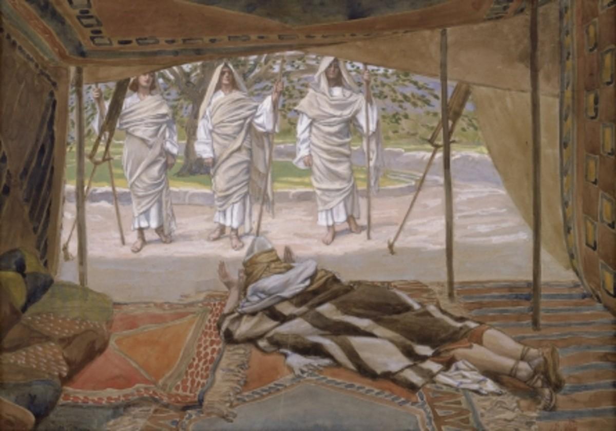 Abraham, Jesus & Two Angels