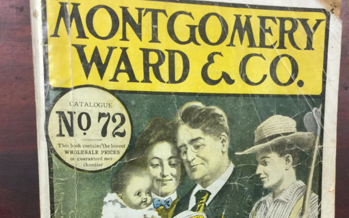 In 1929, the Montgomery Ward catalog—a precursor to the Amazon.com website—was an essential possession in many American households.