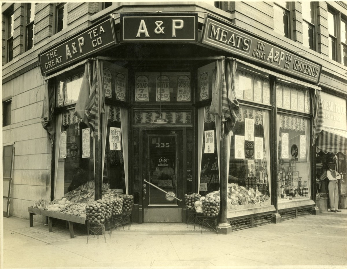 In 1929, the Great Atlantic & Pacific Tea Company, better known as the A&P, was one of America's leading grocery store chains.
