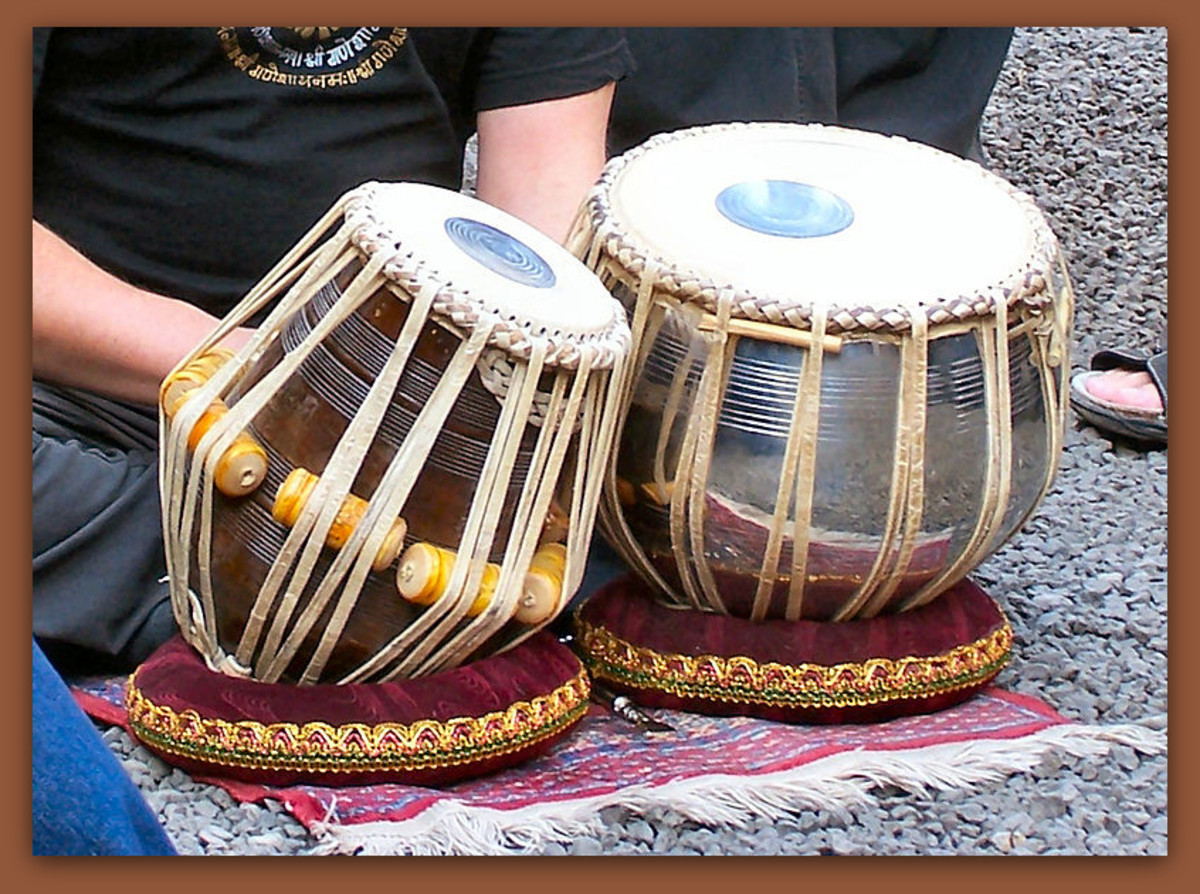 A set of Tabla drums